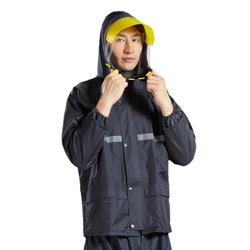 旺雨防暴雨雨衣雨裤套装分体防水成人男女徒步摩托电动车骑行雨衣