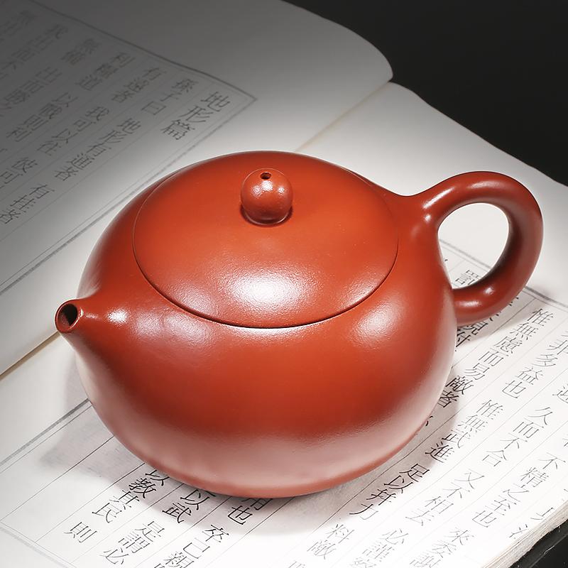 束氏宜兴紫砂壶全纯手工正宗大红袍球孔紫砂壶西施壶泡茶茶具套装