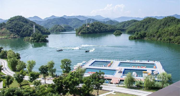 千岛湖进贤湾水上乐园