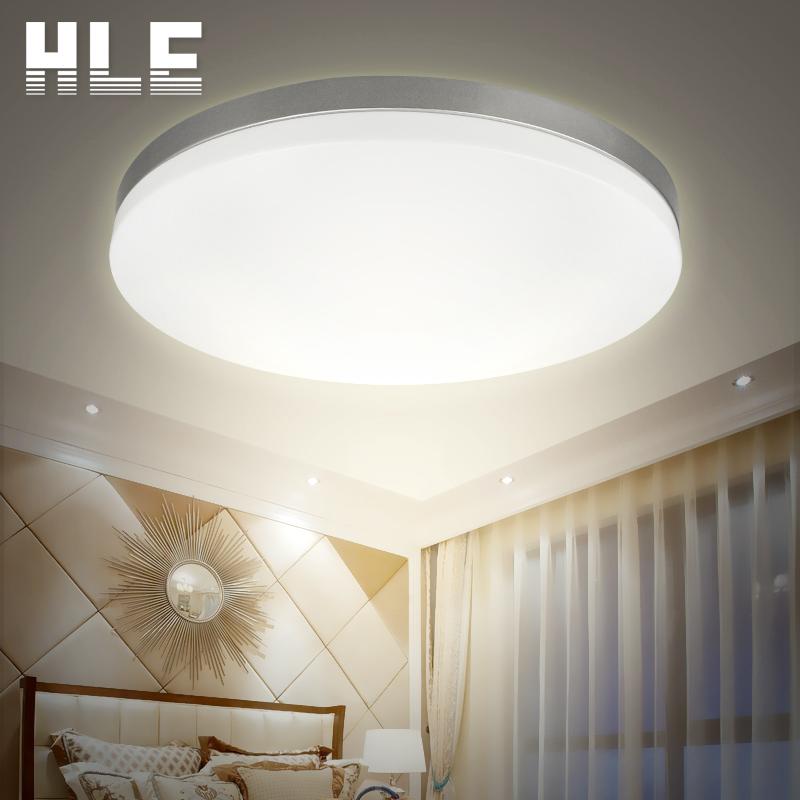 蓝禾照明  圆形led吸顶灯小卧房间阳台灯过道走廊儿童房现代简约