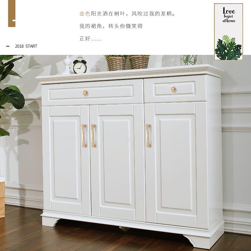 易嘉 欧式纯金色衣柜拉手 现代简约橱柜鞋柜拉手 抽屉图片