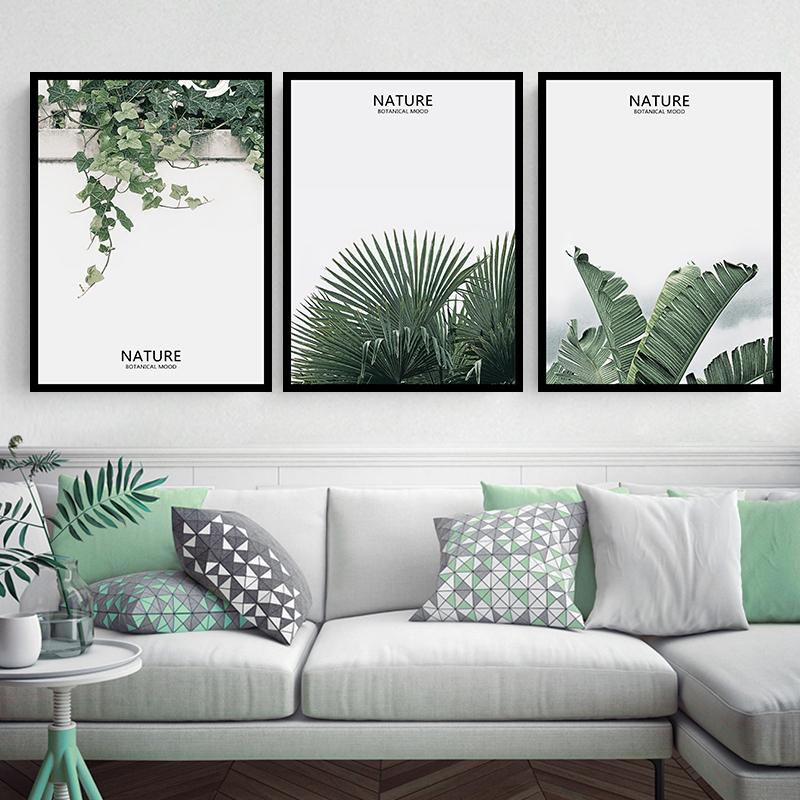 北欧风格客厅沙发背景墙装饰画墙画卧室壁画现代简约餐厅玄关挂画