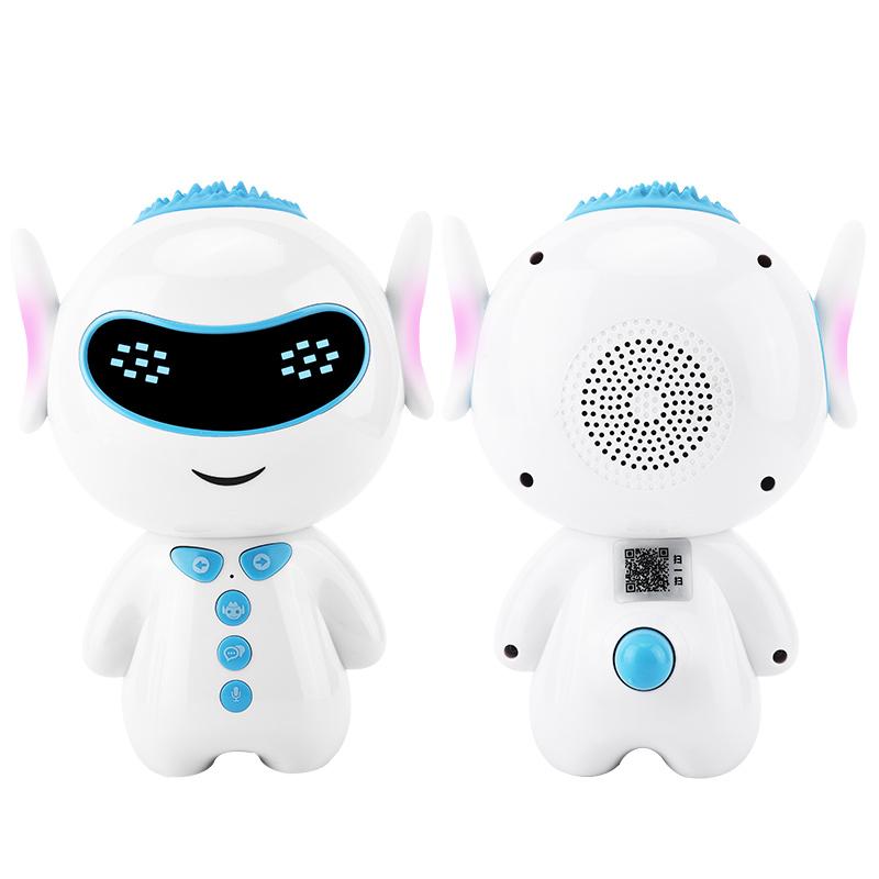 智能陪伴早教机器人儿歌故事中英文问题解答儿童语音对话AI人工互动聊天学生古诗国学男女孩家庭wifi版可充电