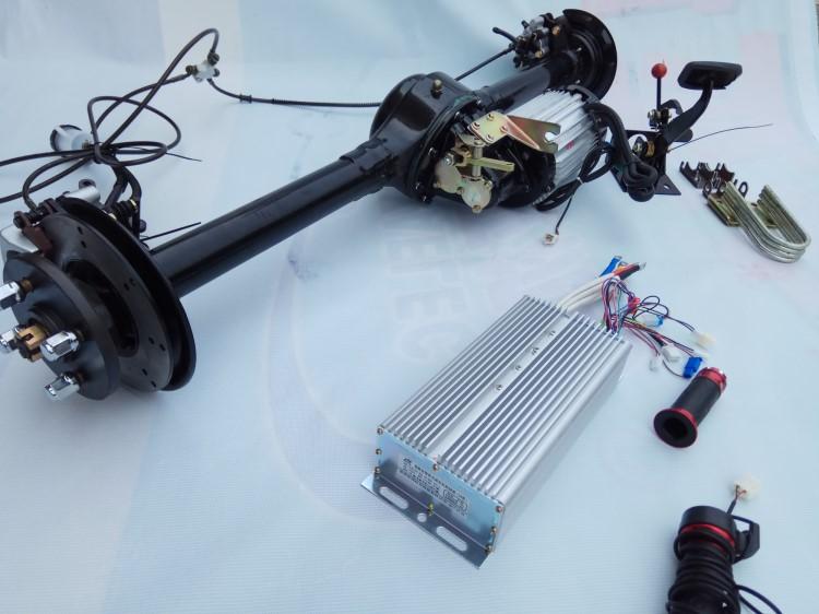 电动三轮四轮车后桥总成大功率碟刹油刹盘刹后桥电动