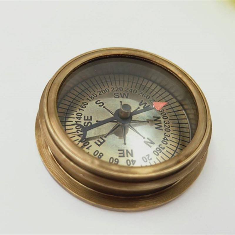 印度进口365bet网上娱乐_365bet y亚洲_365bet体育在线导航纯铜 加勒比海盗指南针美式复古摆件便携