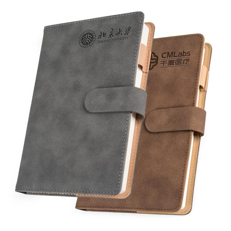 加厚a5创意硬壳商务笔记本文具本子会议工作办公笔记本子订制订做 记事本皮面会议记录本子可印定制定做LOGO