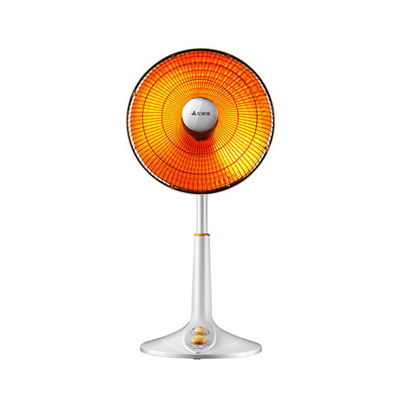 艾美特小太阳取暖器家用烤火炉立式大号升降摇头电暖气宿舍电热扇
