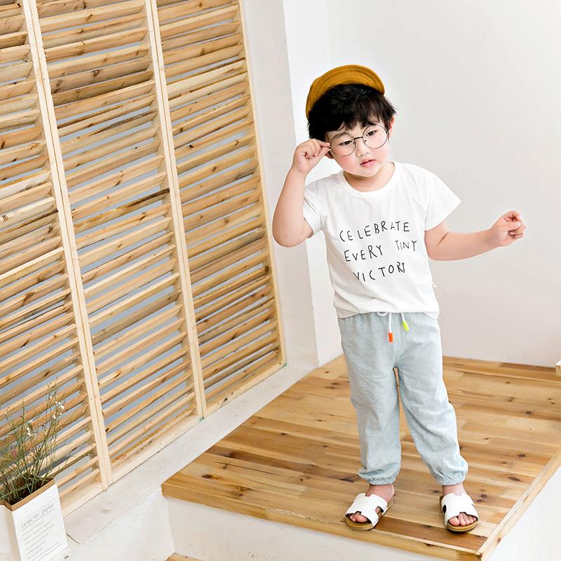 八零八一儿童防蚊裤薄款宝宝夏季宽松灯笼裤婴幼儿薄款空调裤长裤