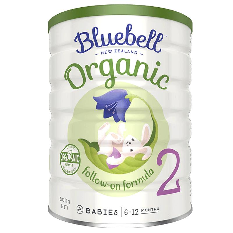 【临期】宝乐贝儿有机奶粉婴儿2段新西兰进口婴幼儿宝宝800g/罐
