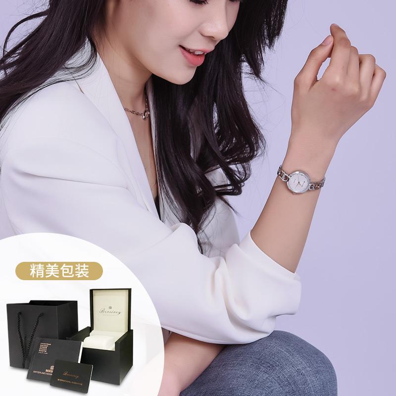 2021年新款BERSINEY简约手链手表防水轻奢时尚品牌女士腕表石英表