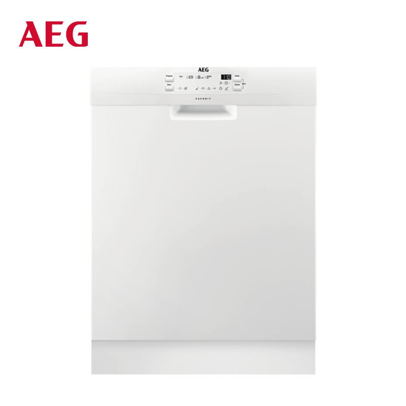 AEG 原装进口独嵌两用13套全自动家用洗碗机高温除菌FFB41600ZW