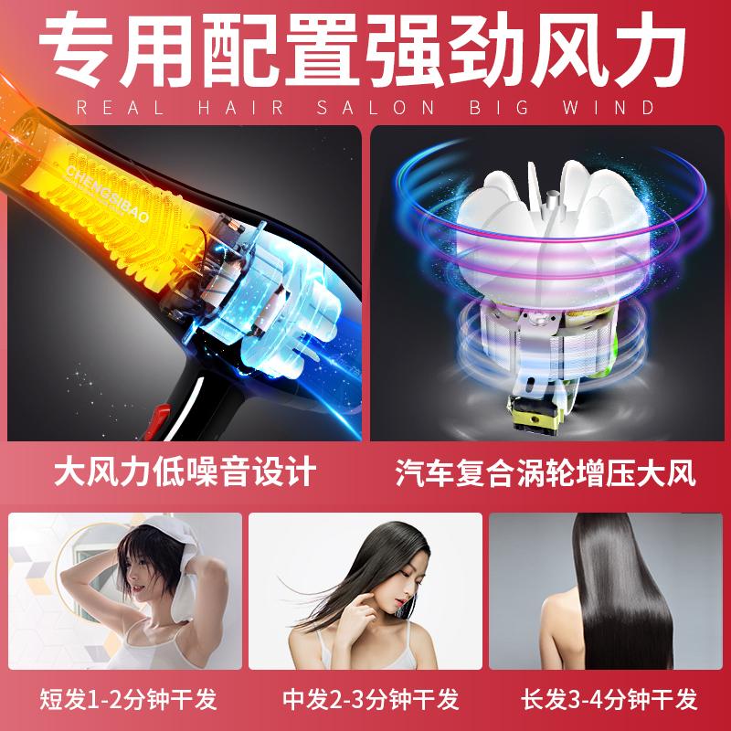 电吹风筒理发店大功率速干家用不伤发发廊专用沙龙发型大师吹风机