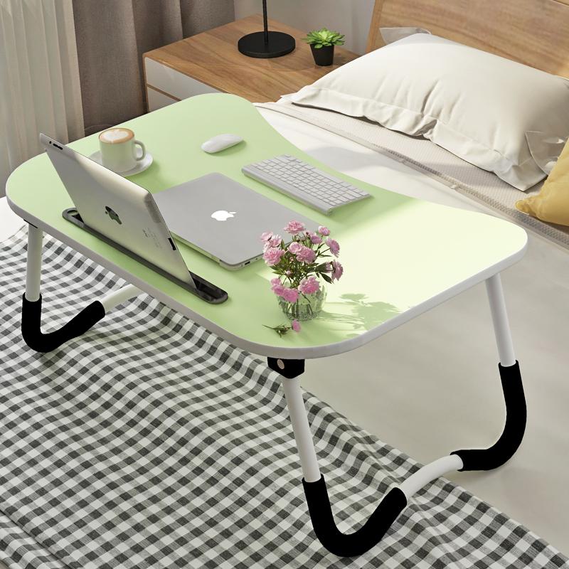 床上书桌折叠桌宿舍笔记本电脑桌大学生寝室用小桌子懒人做桌床桌