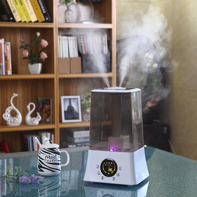 永通加湿器家用大容量静音办公室卧室空调空气净化香薰机小型迷你