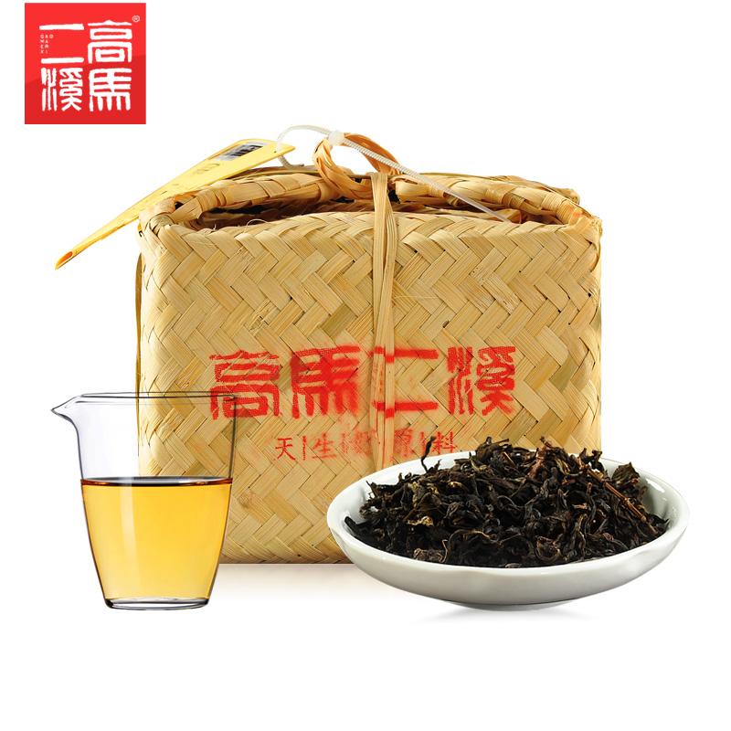安化黑茶风雨韵天尖茶1kg 正宗黑茶湖南安化散茶正品高马二溪安华
