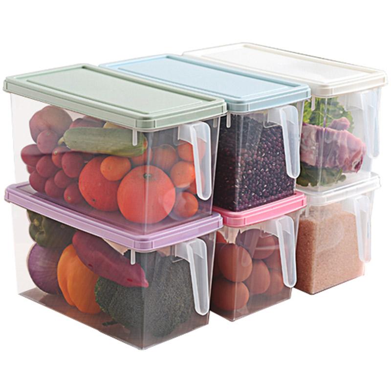 厨房食物收纳保鲜盒调料盒杂粮收纳盒冰箱收纳盒鸡蛋盒密封整理箱