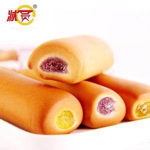 【买1送1】状圆胡萝卜面包500g整箱手撕面包早餐蛋糕糕点点心零食
