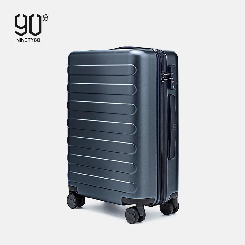 90分旗舰店旅行箱20寸行李箱24寸学生拉杆箱静音万向轮登机旅行箱