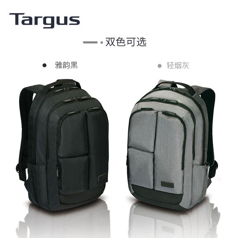 Targus泰格斯男士帆布双肩包大学生潮牌电脑包商务休闲个性背包男