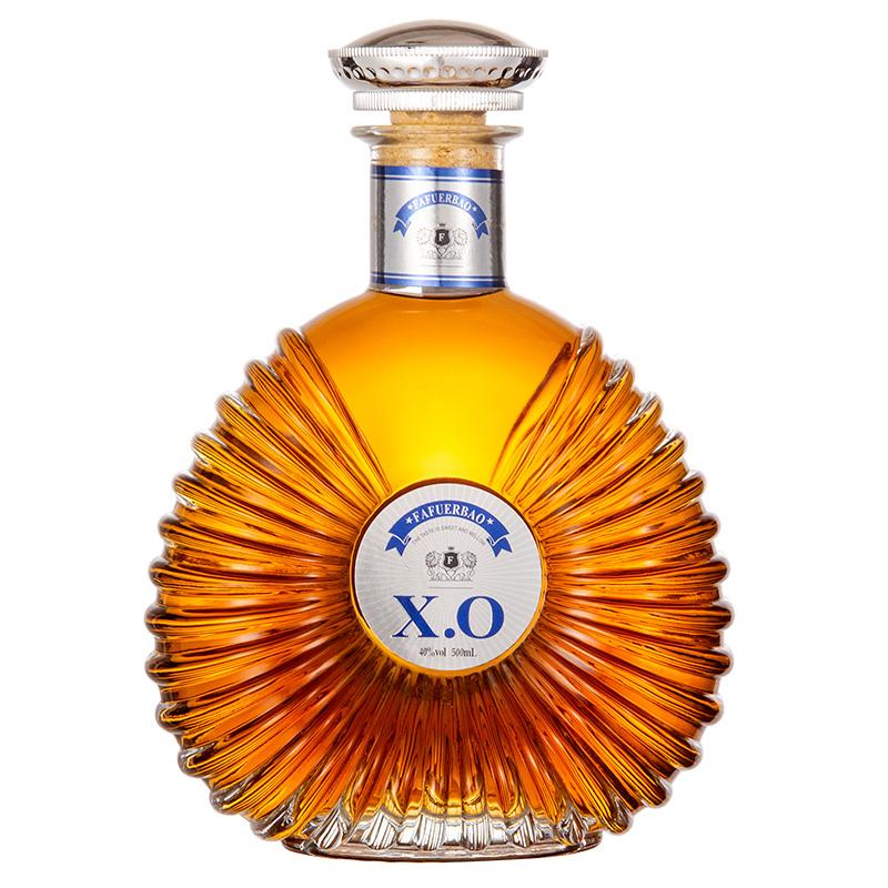 【礼盒装】法国原酒进口洋酒雄狮 X.O白兰地500ml