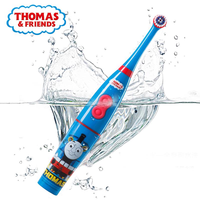 托马斯儿童电动牙刷自动刷牙3-6-12岁软毛小孩家用旋转式电动牙刷