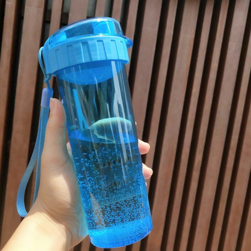摇摇杯蛋白粉太空健身水杯壶随手杯便携塑料杯子防漏运动奶昔杯子