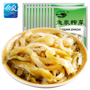 鱼泉脆香榨菜80g*20咸菜丝下饭菜榨菜一箱装重庆特产航空小菜涪陵