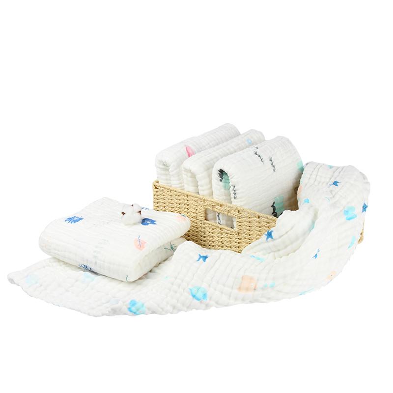 宝宝婴儿浴巾儿童纯棉超柔吸水纱布浴巾毛巾被子新生家用夏季薄款