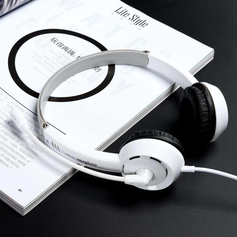 学英语专用iPad耳机学生头戴式四六级听力学习通用儿童耳麦带话筒