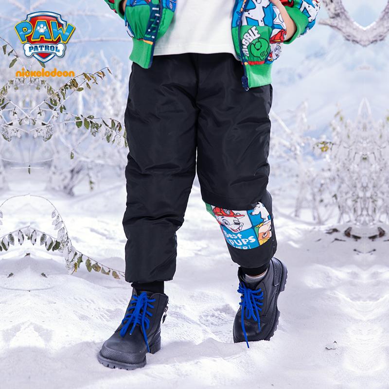 PAW PATROL 汪汪队立大功 新款男女童印花羽绒裤 105-140cm