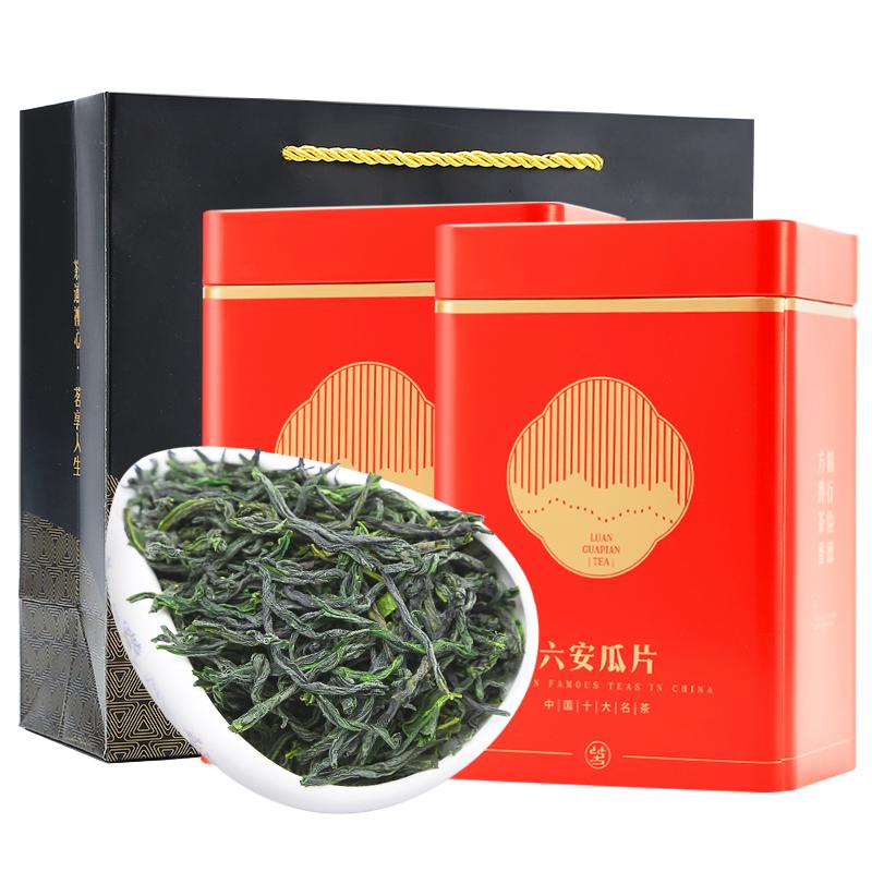 六安瓜片2019新茶叶特级绿茶春茶安徽手工浓香型散装茶共500g礼盒