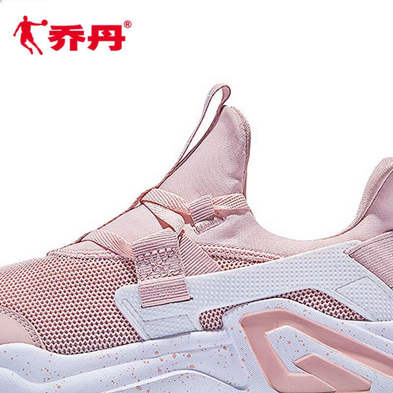 乔丹鞋跑步鞋女2019春季新款网面透气跑鞋休闲鞋运动鞋老爹鞋女Z