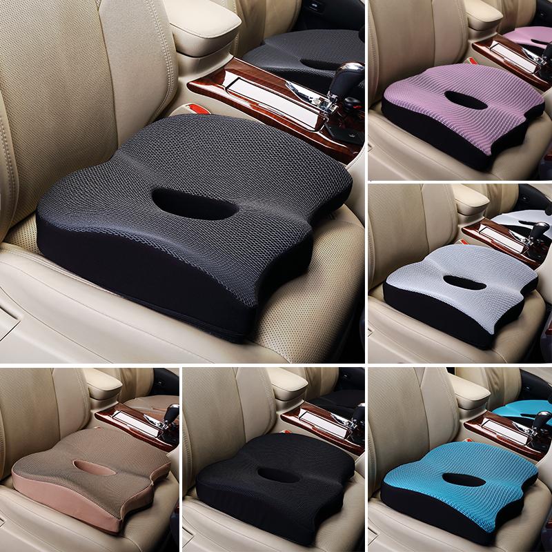 加厚增高冰丝汽车坐垫单个屁屁垫主驾驶坐垫单座汽车坐垫夏季凉垫