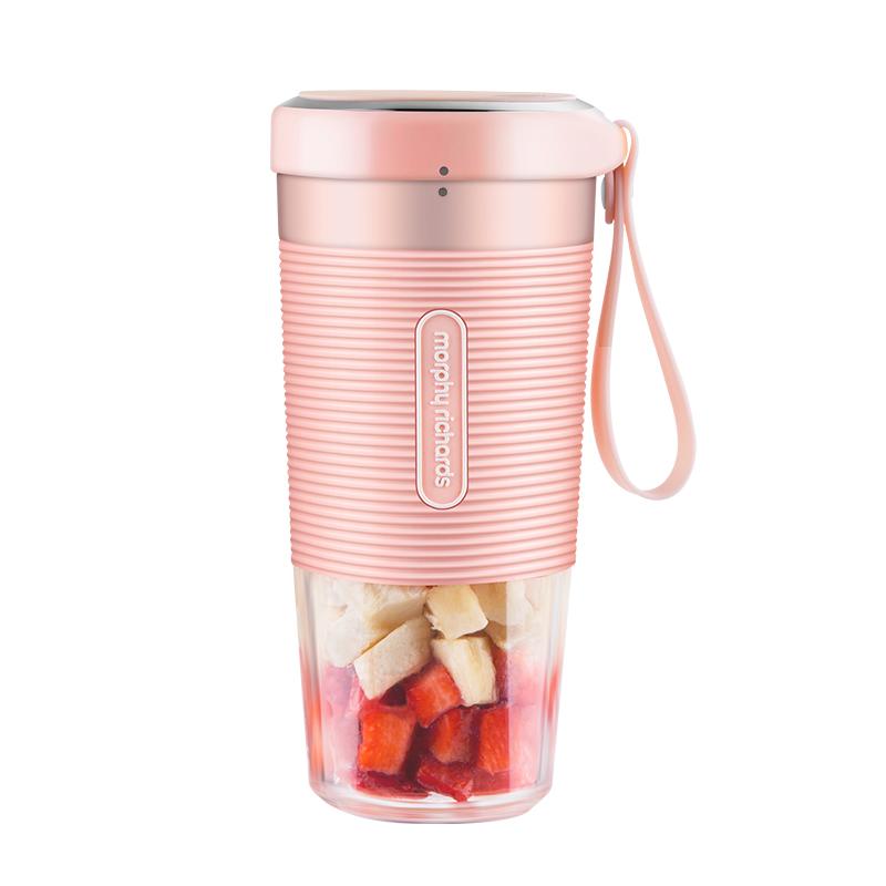 摩飞榨汁机小型便携式榨汁杯家用电动果汁机迷你全自动水果炸汁机