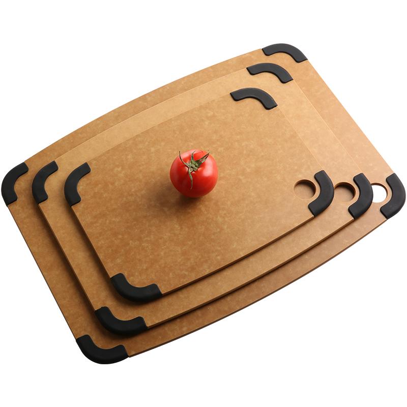 皇冠宝尔进口松木纤维菜板实木家用厨房刀板砧板水果占板擀面案板