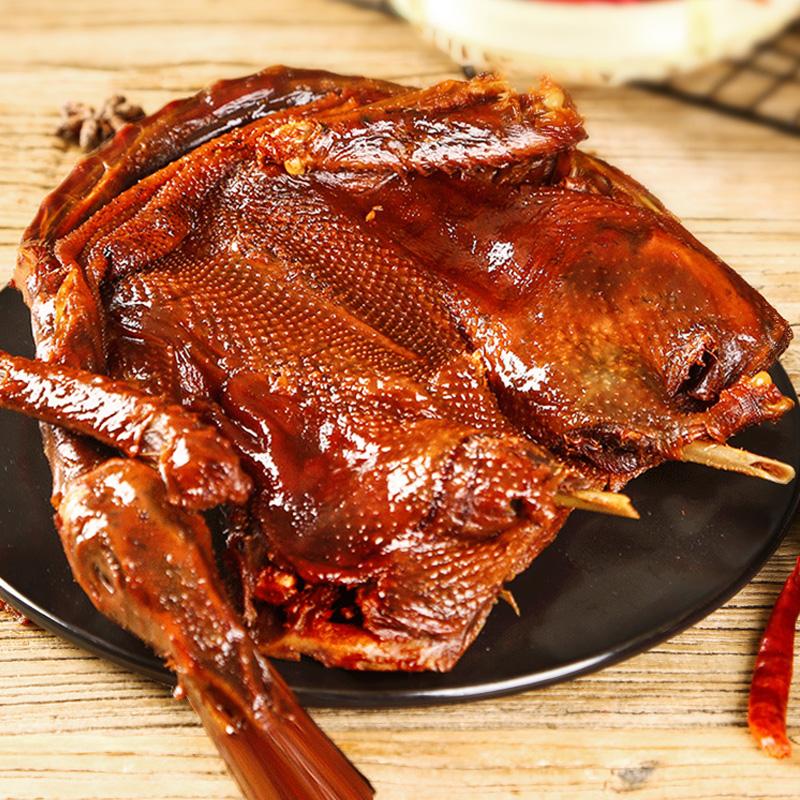 酱板鸭湖南常德特产肉食熟食小吃零食品正宗手撕风干特辣即食烤鸭