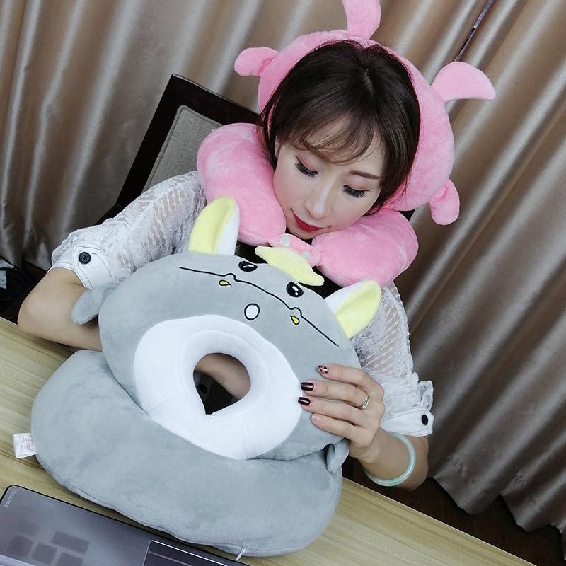 午睡枕抱枕小学生趴趴枕办公室午休枕头儿童睡觉神器趴着桌子睡枕