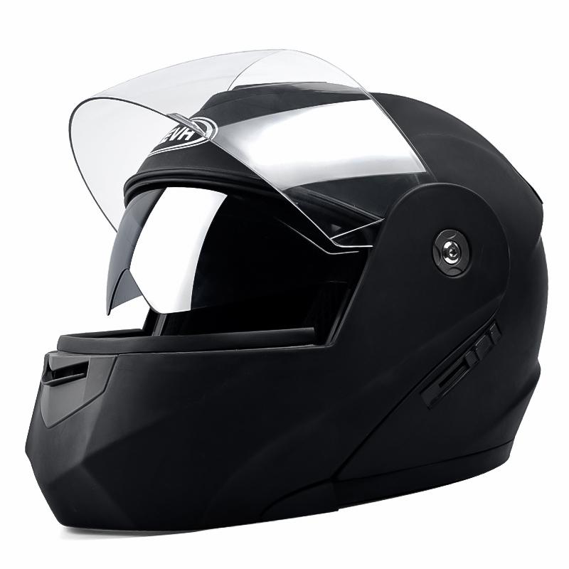 电动摩托车头盔男女四季揭面盔全盔冬季保暖通用全覆式防雾安全帽