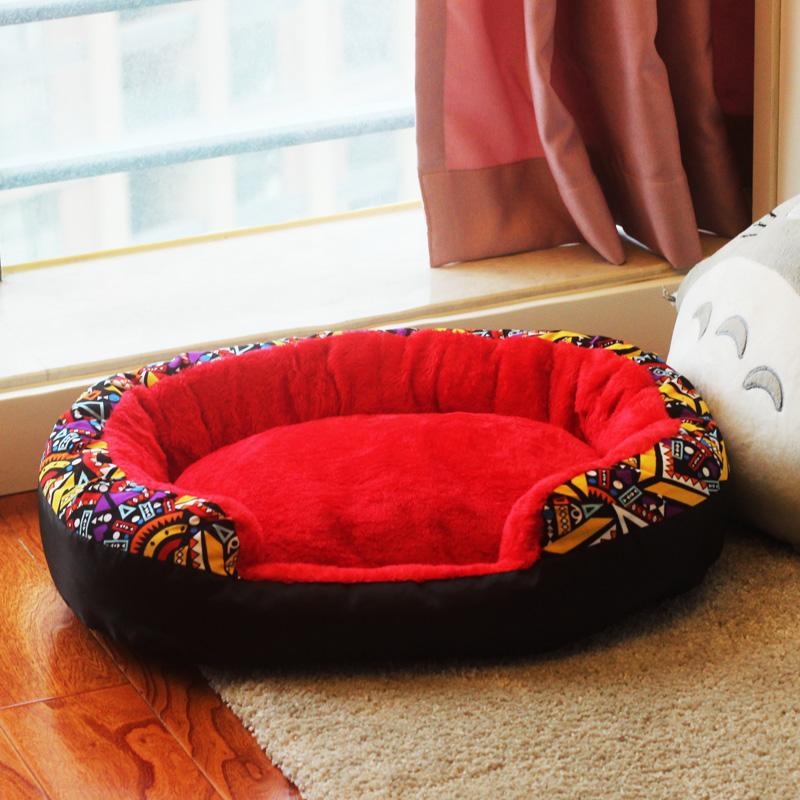 泰迪狗窝冬天可拆洗床垫比熊宠物狗屋四季保暖猫窝网红狗窝小型犬