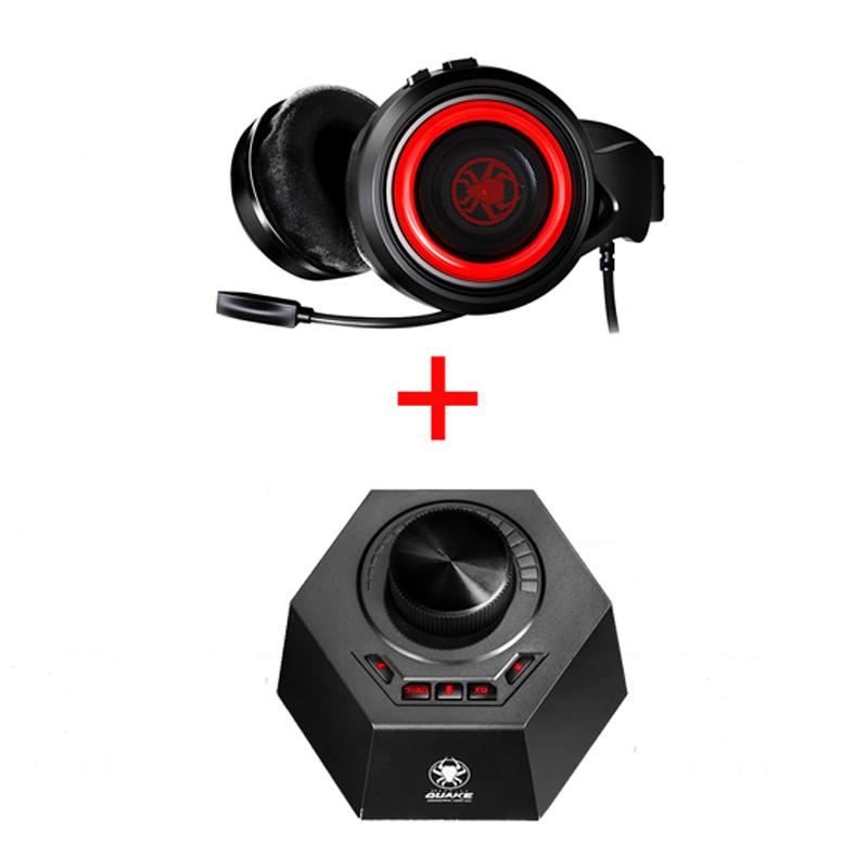 PLEXTONE/浦记G600 吃鸡耳机头戴式USB7.1声道后挂式台式电脑笔记本通用网吧电竞游戏耳麦重低音有线带话筒