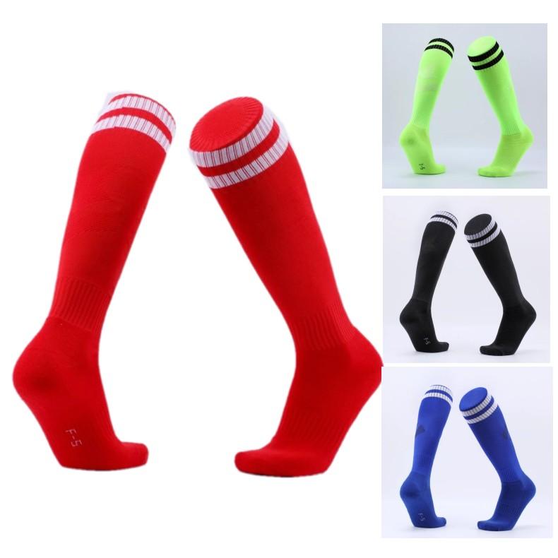成人儿童同款足球袜长筒男 足球袜 加厚毛巾底 运动袜子足球长袜