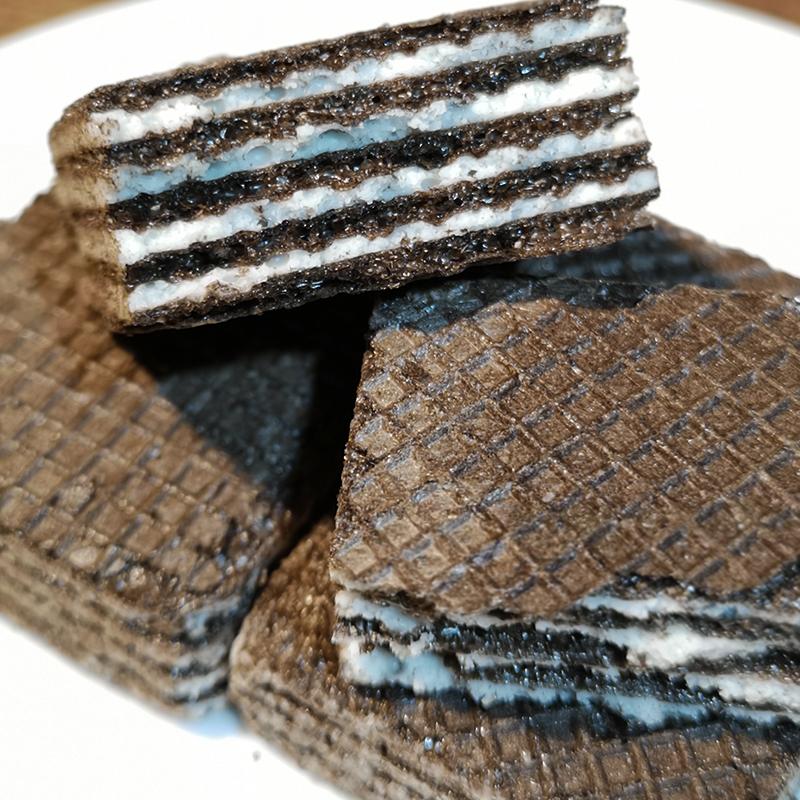 俄罗斯零食奥利奥巧克力夹心威化饼干早餐特产食品小吃零食500克