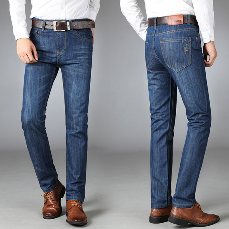 牛仔裤男直筒牛仔男裤 青年男裤 宽松长裤中年商务百搭牛子裤男