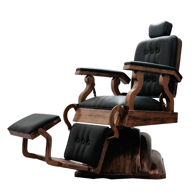 正版现货理发美发椅升降放倒复古大椅子老式发廊专用