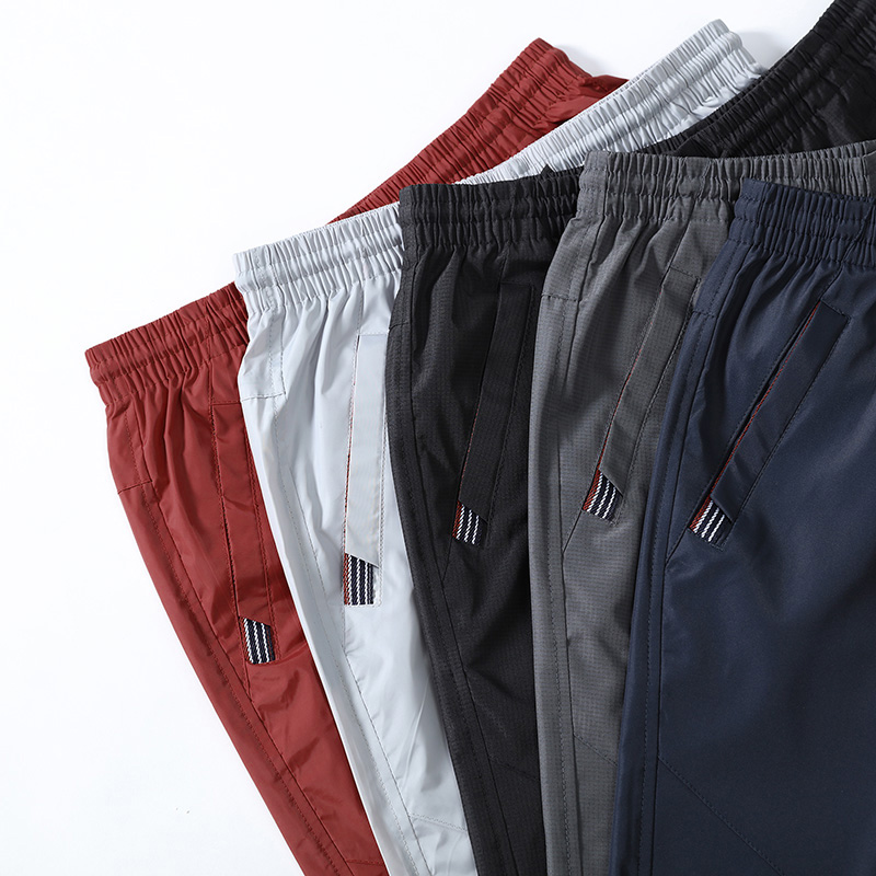 2条)男士短裤夏季宽松休闲运动裤五分大码中裤速干七分裤子男夏天