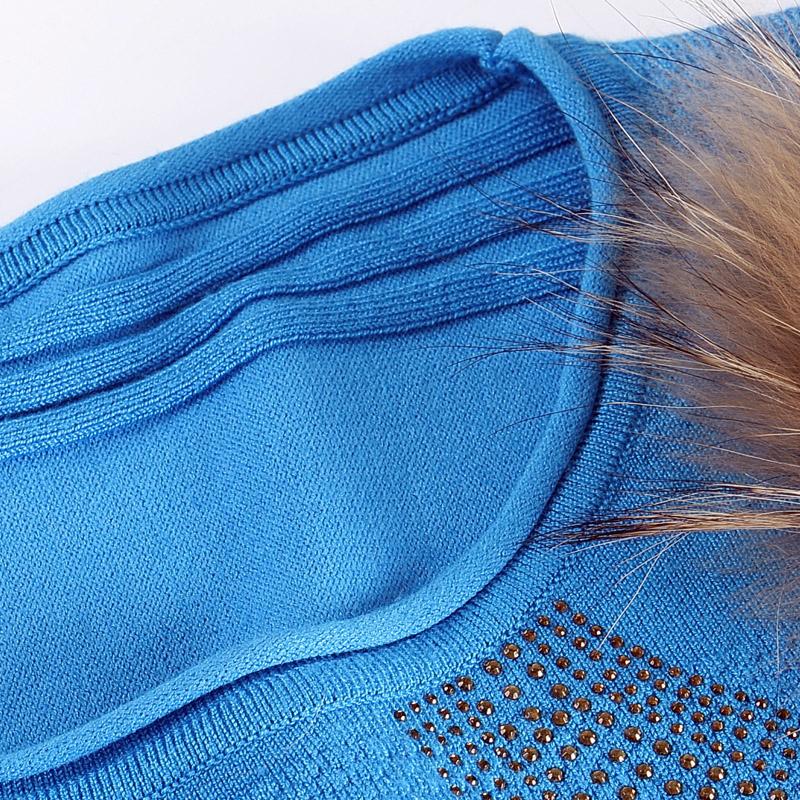 2019春装新款韩版大码女装秋冬短款长袖圆领蝙蝠袖毛衣套头针织衫