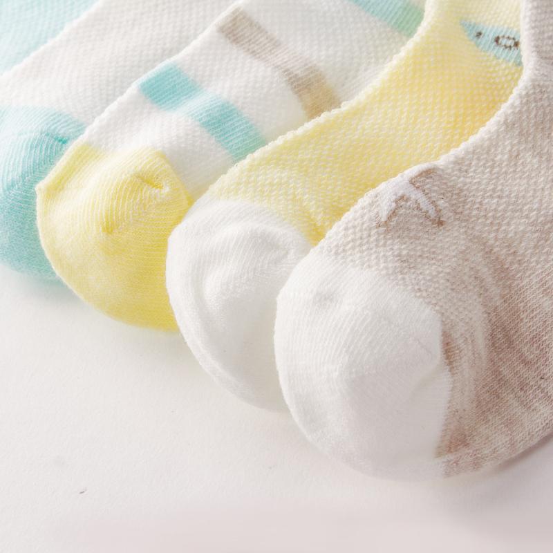 优贝宜 童袜婴儿袜子夏季儿童短袜宝宝袜男女童袜新生儿3-5-7岁
