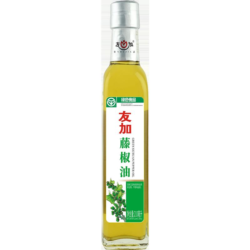 友加汉源藤椒油210ml 四川特产特麻青花椒油麻椒油麻得倒调味料