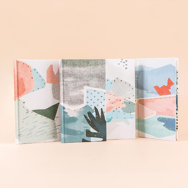 广博加厚大学生A5硬面笔记本创意日记本学生A6记事本子