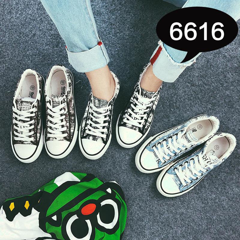 春夏秋季新款男士帆布鞋男鞋韩版运动板鞋男潮流学生布鞋子硫化鞋